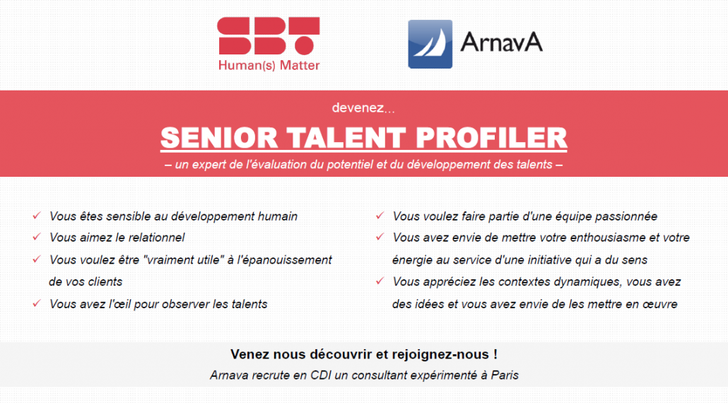 Senior talent profiler - recrutement
